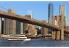 Skyline Princess boat under Manhattan Bridge