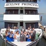skyline princess wedding bow shot