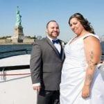 statue of liberty wedding cruise nyc