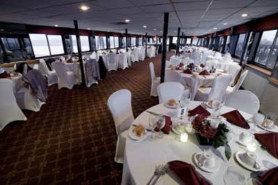 Wedding Cruise Buffet in CT by Skyline Cruises