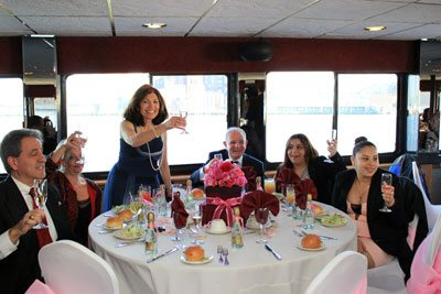 Private Wedding Charter Buffet in NY by Skyline Cruises
