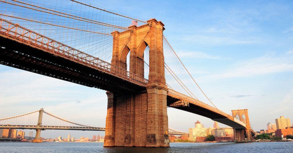 Skyline Cruise passing a bridge