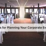 5 Tips for Planning Your Corporate Event on Skyline Cruises