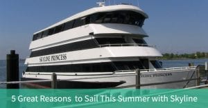 5 great reasons to sail this summer with skyline