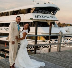 Fall Weddings on Skyline Cruises NYC