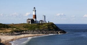 Montauk Point Lighthouse From Skyline Cruises