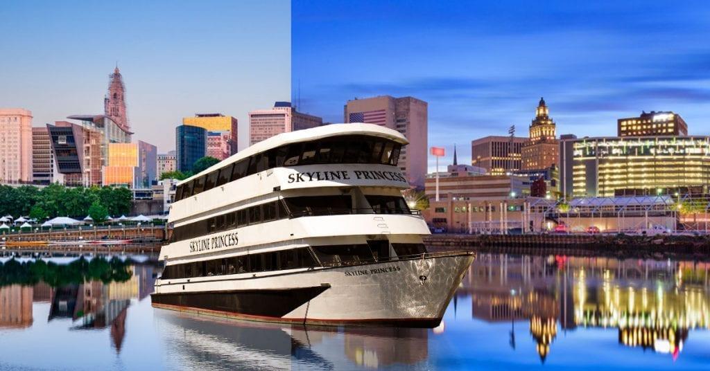 Skyline Princess Cruise ship in NYC