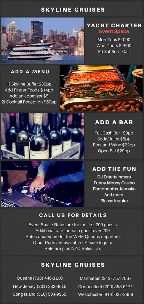 Pricing for a holiday party 2018