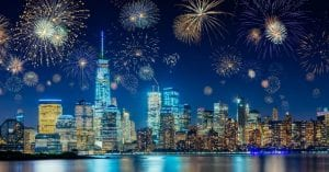 NYC New Year's Eve Cruise aboard the Skyline Princess Cruise Ship