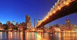 history of new york bridges
