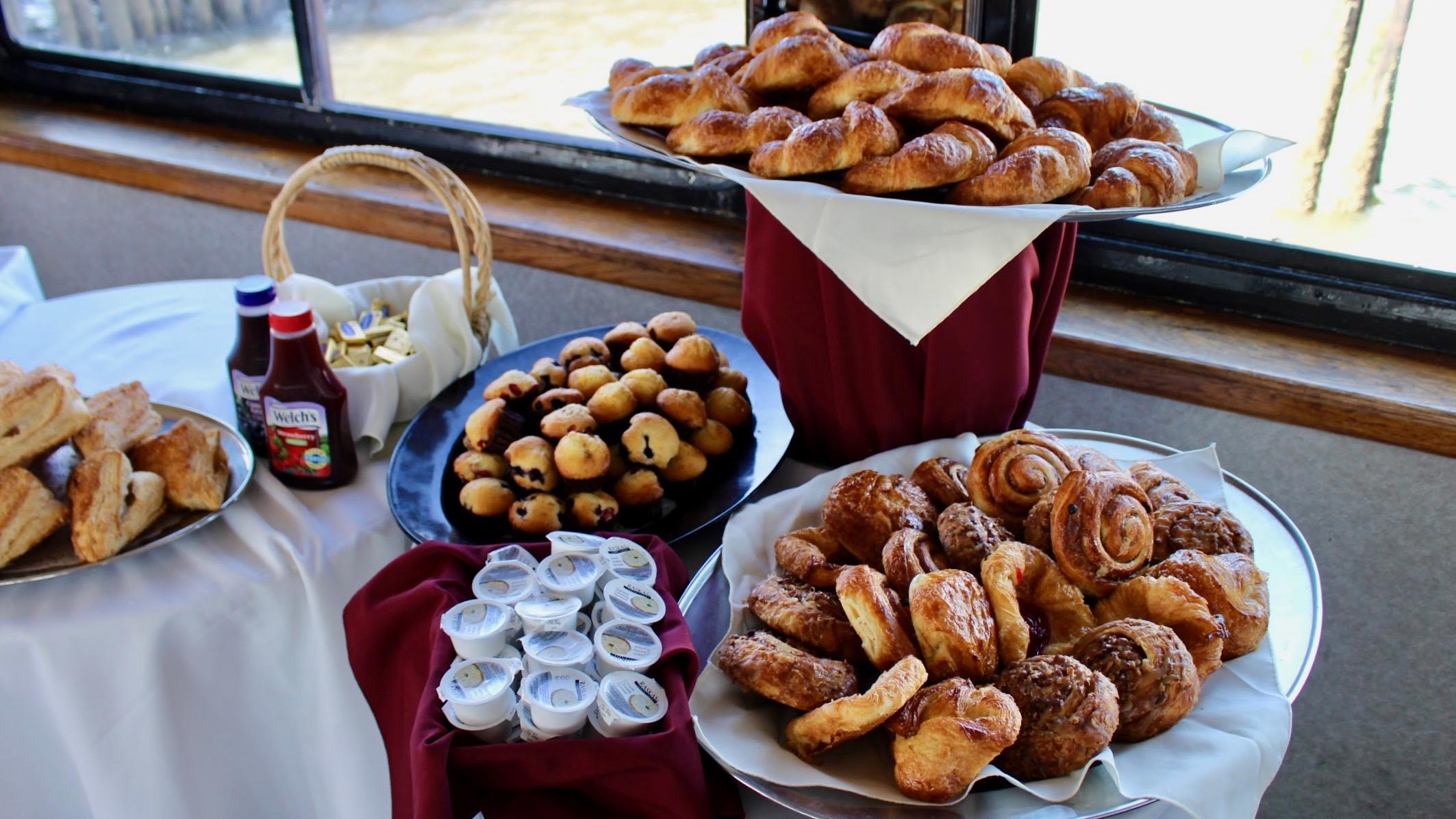 brunch buffet options