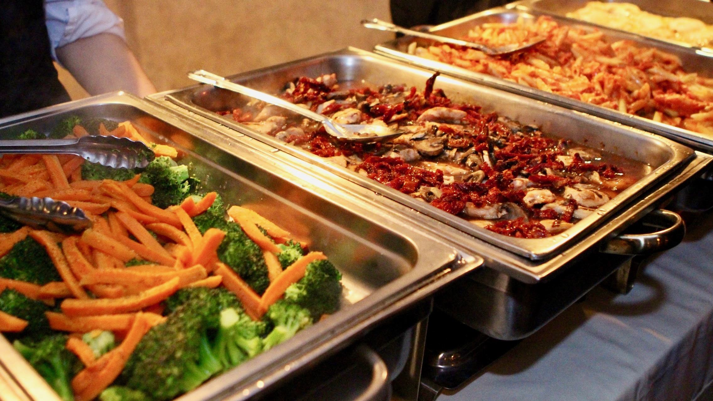 Catered Food aboard Skyline Cruises