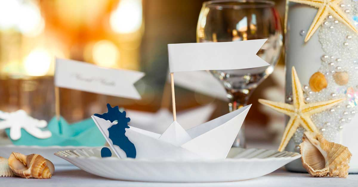 Nautical Themed Ideas for Your Skyline Wedding